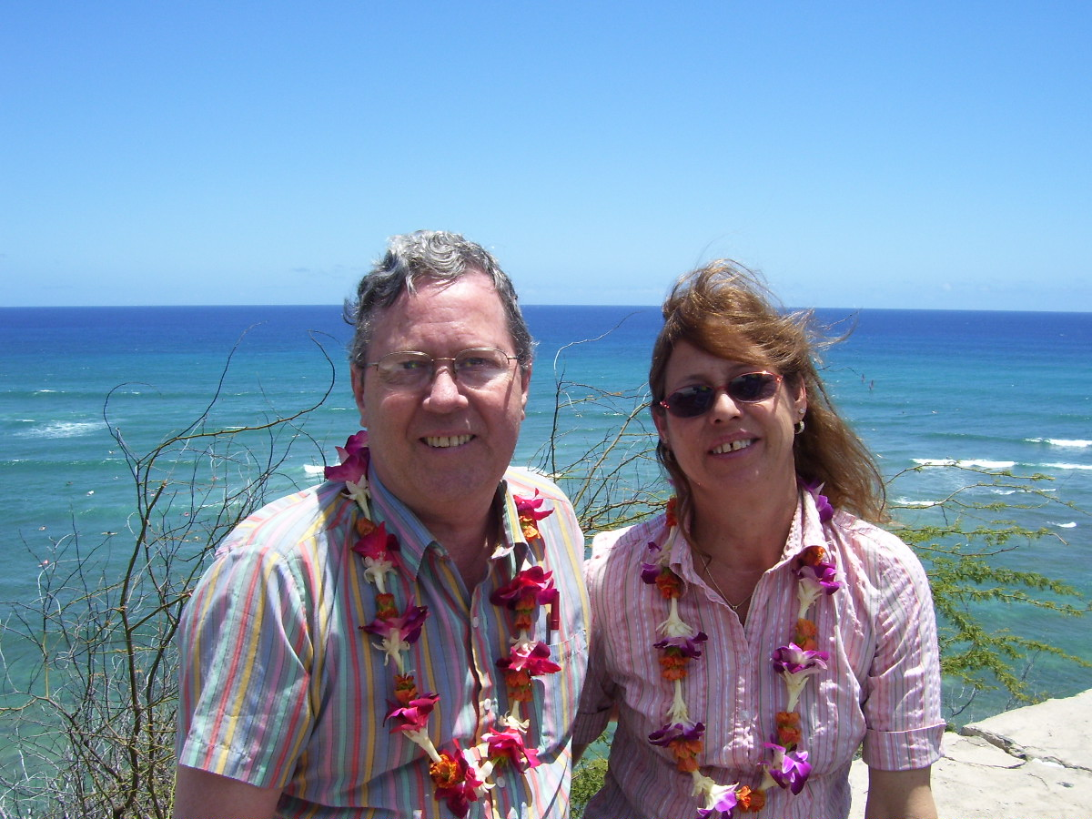 Rob and Pam in Hawaii