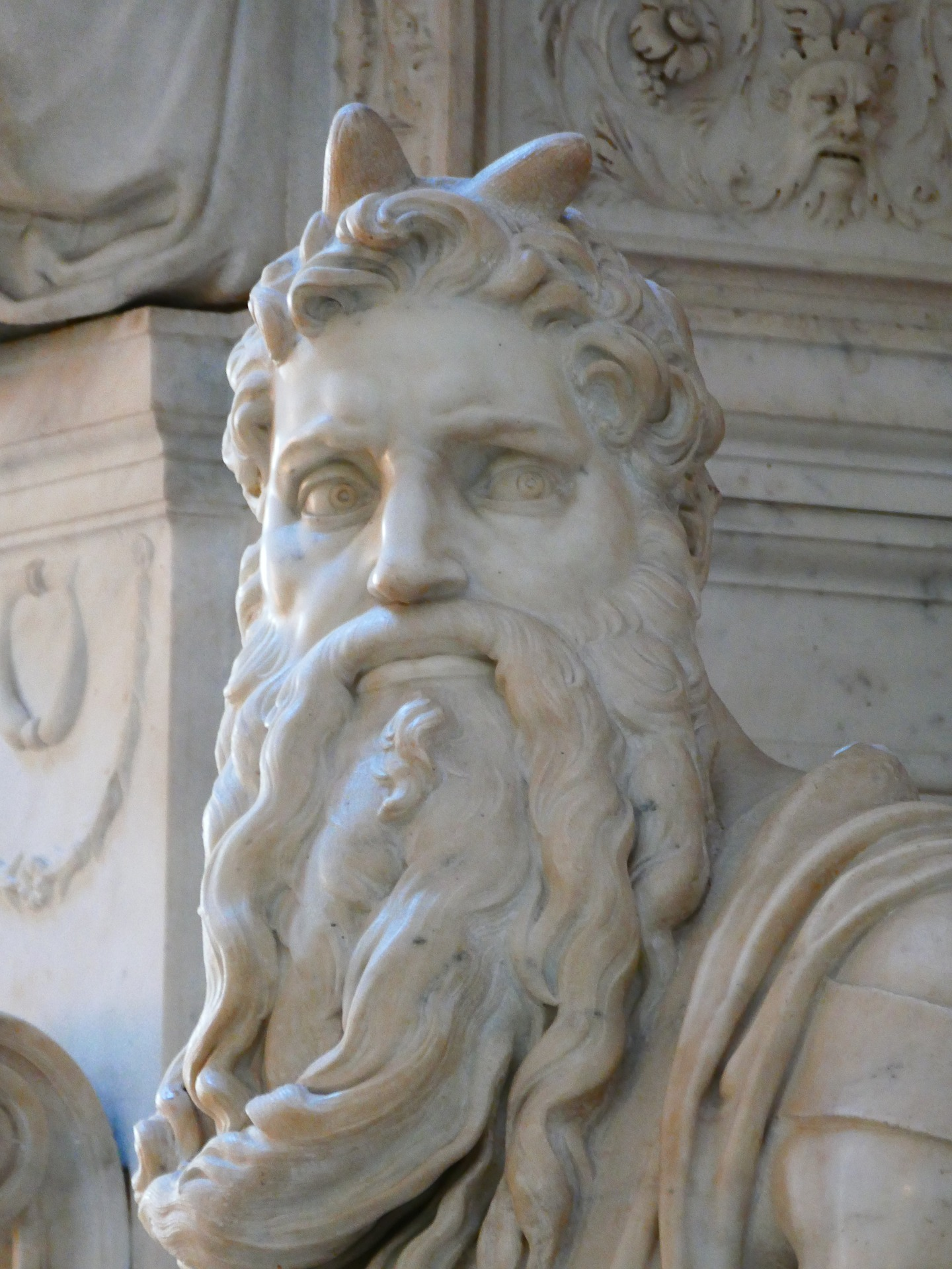 Moses Statue by Michelangelo