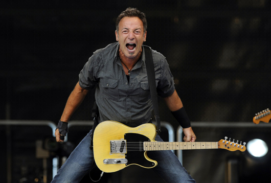 A fabulous picture of Rick Springsteen